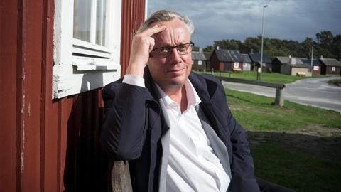 Portrait von Jonas Jonasson in Tofta auf der schwedischen Insel Gotland.