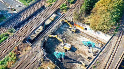Nachrichten aus Deutschland – weitere Eisenbahnbrücken im Ruhrgebiet werden abgerissen