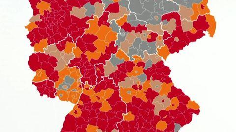 Traurige Rekorde: Mehr als 11.000 Neuinfektionen und 166 Hotspots in Deutschland