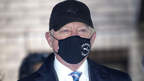 Boris Becker vor demSouthwark Crown Court in London