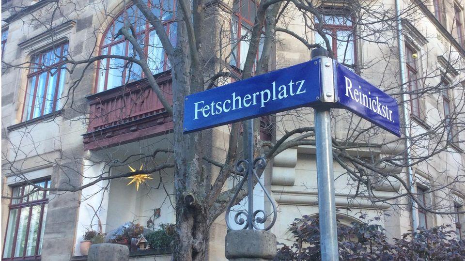 Der Fetscherplatz in Dresden