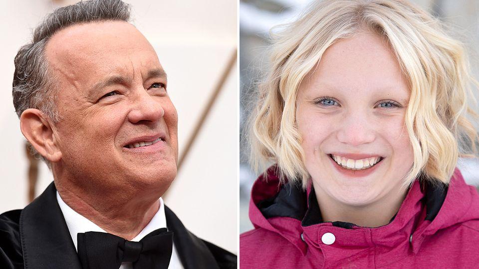 Tom Hanks und Helena Zengel