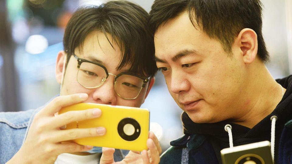 Smartphone-Markt: Auch in der Heimat China ist Huawei nicht mehr der Smartphone-König