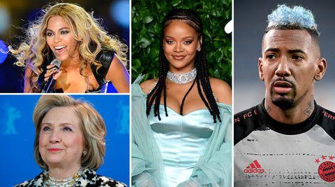 Boateng, Clinton, Beyonce, Rihanna