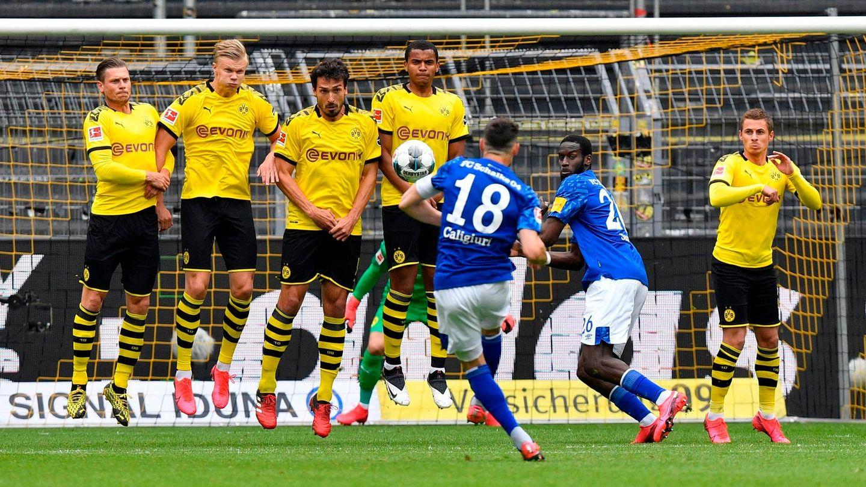 Im vergangenen Derby im Mai setzte es für Schalke eine 0:4-Pleite