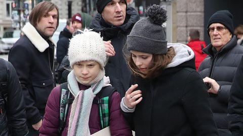 Greta Thunberg und Luisa Neubauer