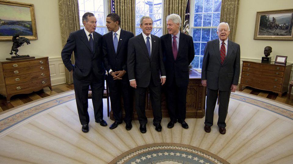 Ex-US-Präsidenten