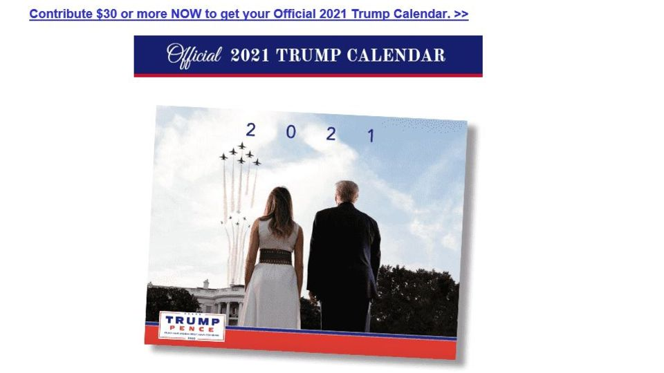 Trump Kalender