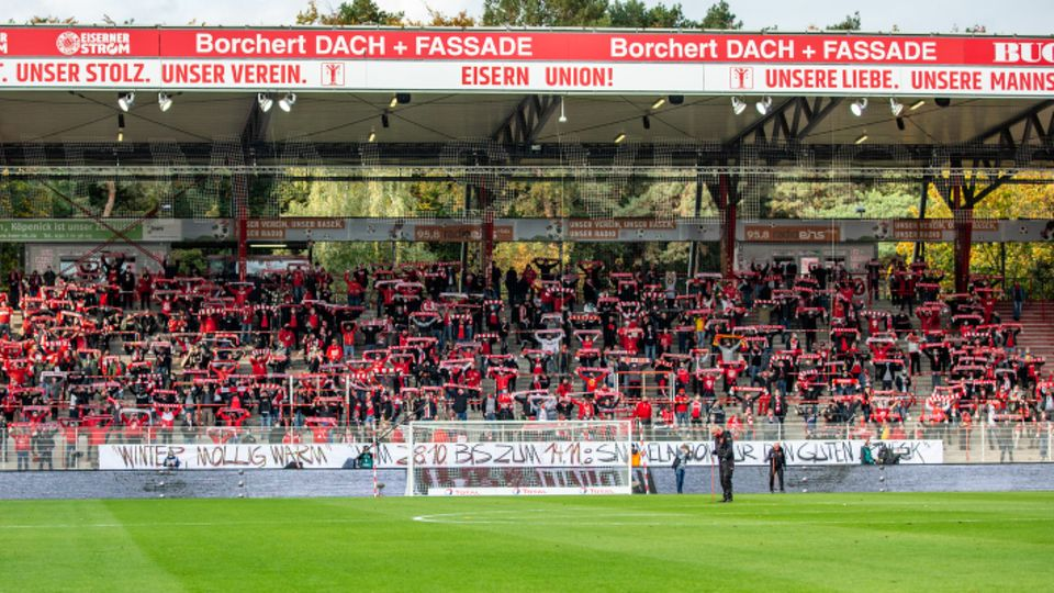 After all 4500 Fans went to the authorities, the Stadion an der Alten forsterei, Union Berlin