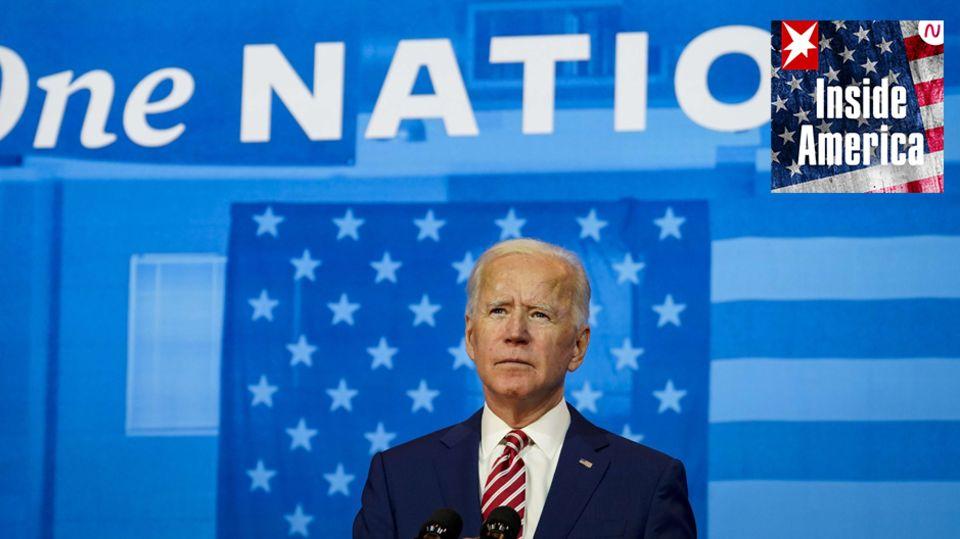 Joe Biden, hierbei einem Wahlkampfauftritt vergangene Woche in Wilmington, im US-Bundesstaat Delaware