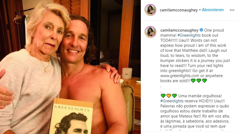 Matthew McConaughey und seine Mutter Kay