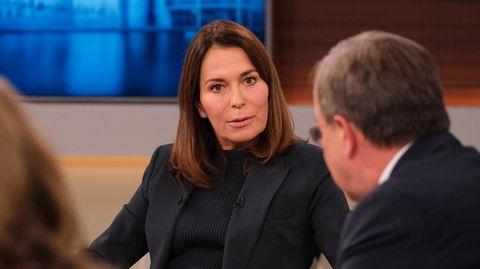 Anne Will während ihrer Talk-Show am 25.10.2020