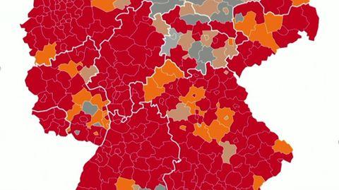 Corona News: Mehr als 100.000 aktive Infektionen in Deutschland, R-Wert steigt auf 1,45