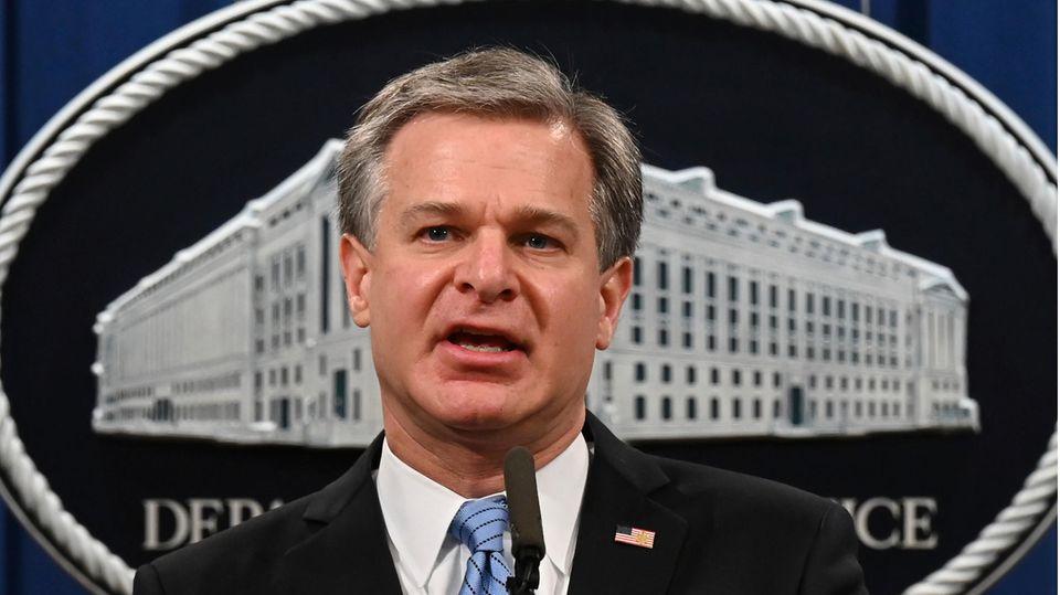 Christopher Wray, Direktor des Federal Bureau of Investigations (FBI)