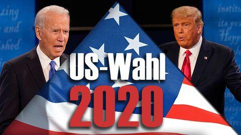 US-Wahl 2020: Trump versus Biden