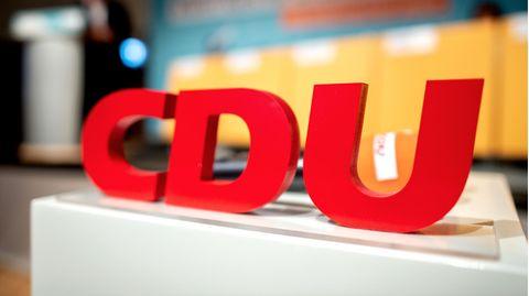 Das Logo mit den Buchstaben der CDU