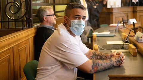 Rapper Bushido sagtvor Gericht gegen Clan-Chef Arafat aus.