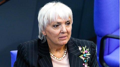 Bundestagsvizepräsidentin Claudia Roth (Bündnis 90/Die Grünen)