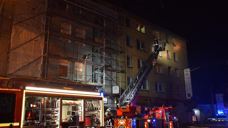 Feuerwehreinsatz in Mühlheim an der Ruhr