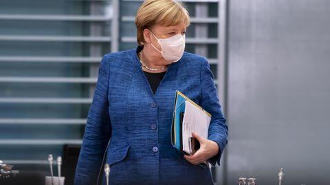Kanzlerin Angela Merkel will mit den Ländern dringend über eine stärkere Eindämmung beraten