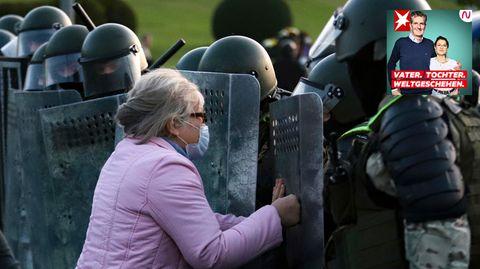 Freiheitskämpfe in Belarus