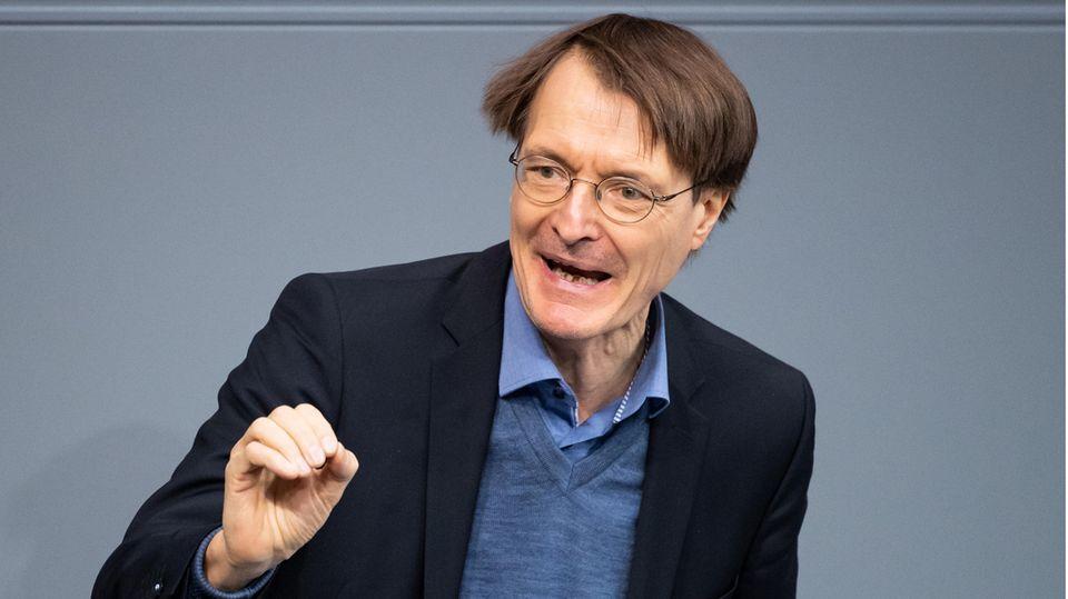 Karl Lauterbach, Bundestagsabgeordneter und Gesundheitsexperte der SPD