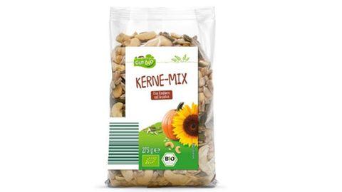 Rückrufe und Produktwarnungen: Gut Bio Kerne-Mix zurückgerufen: Pflanzenschutzmittel-Rückstände nachgewiesen