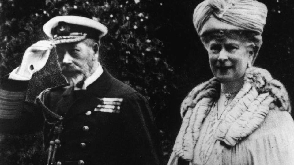 Erster Weltkrieg: Die erfundene Dynastie der Windsors – als das Könighaus weniger deutsch werden musste