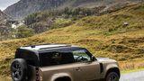 Der Land Rover Defender 90 X P400 ist bis zu 209 km/h schnell