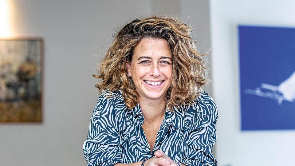 Noa Rothman, 43, in ihrem Haus in Ramat Hascharon nahe Tel Aviv