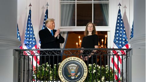 US-Präsidentschaftswahl: Warum der neu besetzte Supreme Court über die Wahl entscheiden könnte