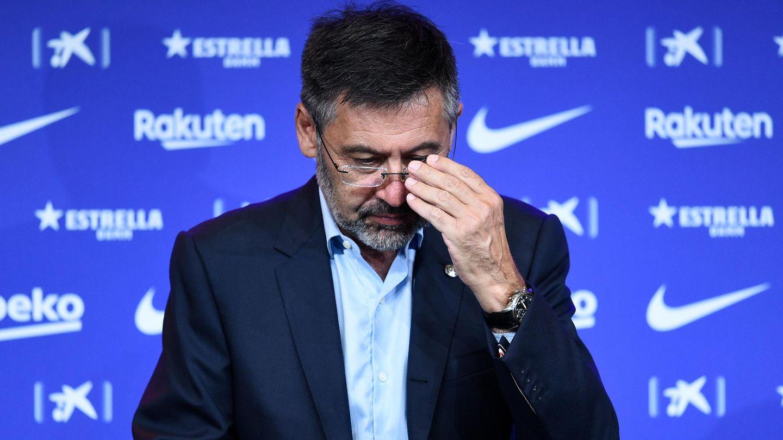 Barca-Präsident Joesep Bartomeukam mit seinem Rücktritt einer möglichen Absetzung bevor