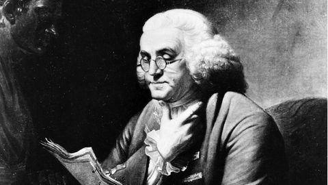 Gründung der USA: Er entwirft Blitzableiter, kartiert den Golfstrom – und hebt die USA aus der Taufe: Benjamin Franklin