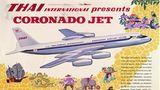 Mit der ConvairCV-990m dem damals schnellsten Langstreckenjet,begann 1962für die Fluggesellschaft das Jetzeitalter.