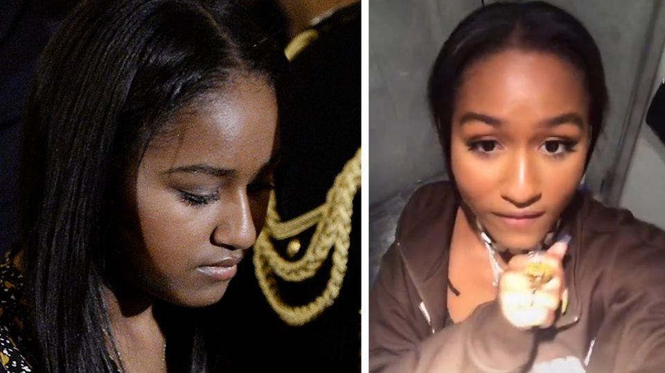 Obama-Tochter geht mit Rap-Video auf TikTok viral – und löscht es dann schnell wieder
