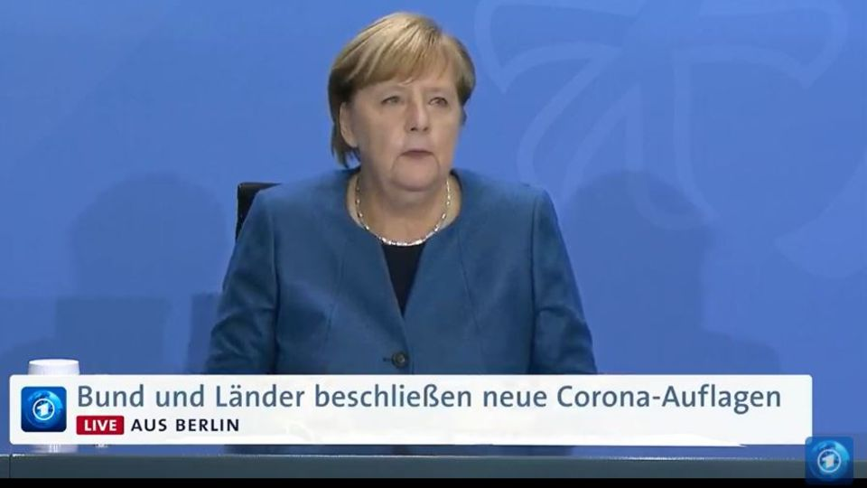 Angela Merkel verkündet die neuen Corona-Maßnahmen