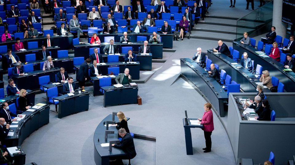 Corona-Debatte im Bundestag