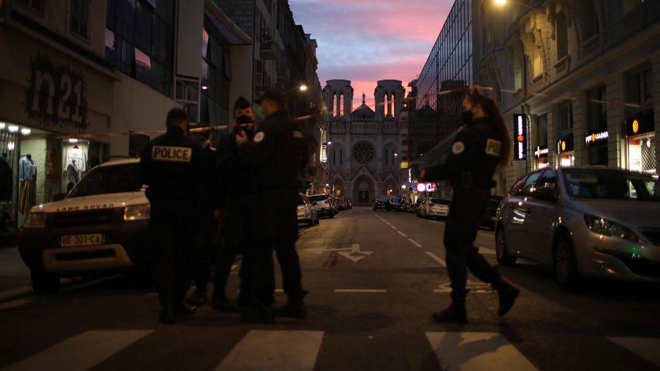 Ermittlungen nach der Messerattacke von Nizza