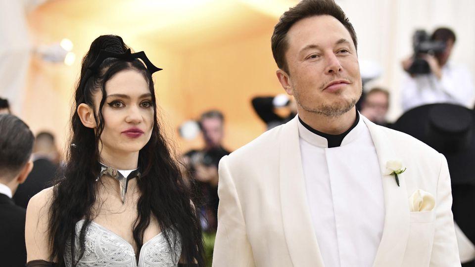 """Sohn von Elon Musk und Grimes mag """"radikale Kunst"""""""