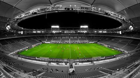 Das Stadion vom VFB Stuttgart