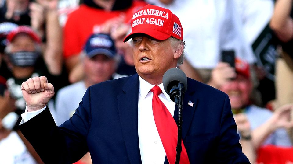 Die Wahrheit hinter den Zahlen: Wo Donald Trump Wahlkampf-Auftritte hatte, steigen die Coronazahlen