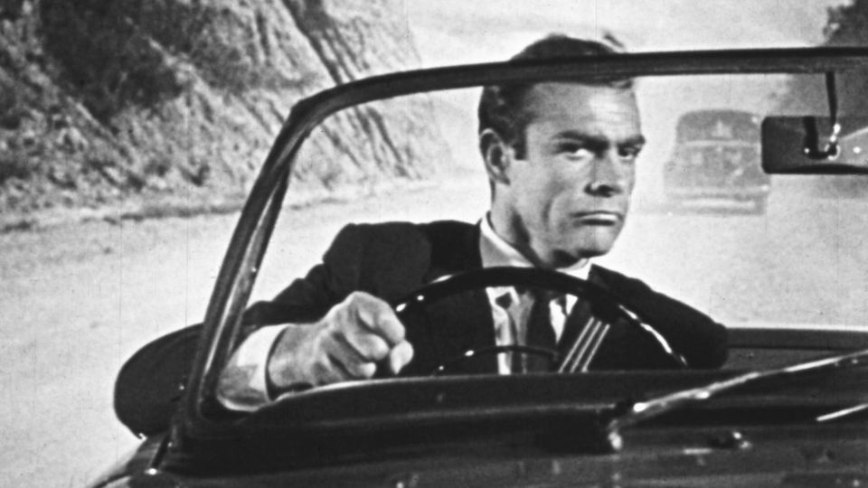 """Sean Connery schlüpfte 1962 in """"James Bond jagt Dr. No"""" zum ersten Mal in seine Paraderolle"""