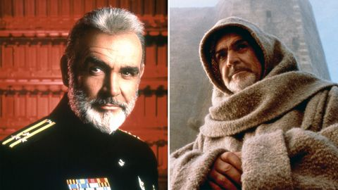 """Sean Connery in """"Jagd auf Roter Oktober"""" und """"Der Name der Rose"""""""