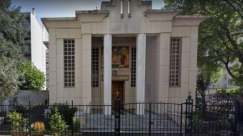 """Laut """"Le Figaro"""" hat sich die Tat vor dieser griechisch-orthodoxen Kirche in Lyon ereignet"""