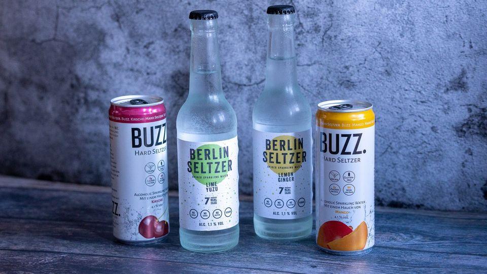 Hard Seltzer sind der neue Getränke-Trend