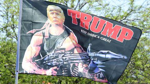 Unterstützter von Donald Trump