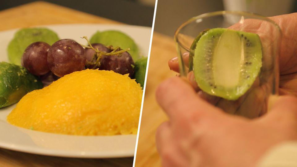 Mango, Kiwi oder Avocado: Mit diesem Trick schälen Sie Früchte kinderleicht