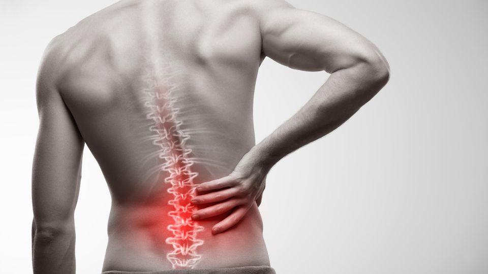 Rückenstützgürtel gegen Verspannungen und Schmerzen