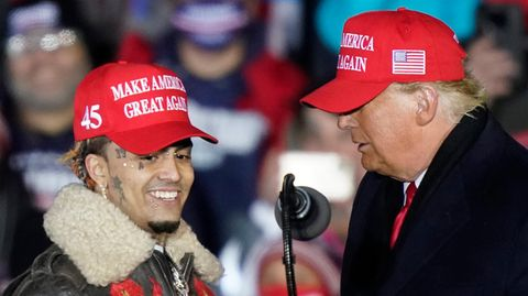 """Trump leistet sich peinlichen Versprecher – und bezeichnet Rapper als """"kleinen Zuhälter"""""""