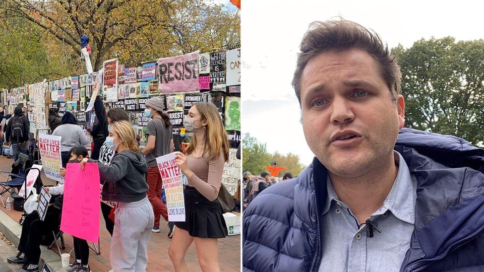 US-Wahl 2020: stern-Korrespondent Nicolas Büchse in Washington DC